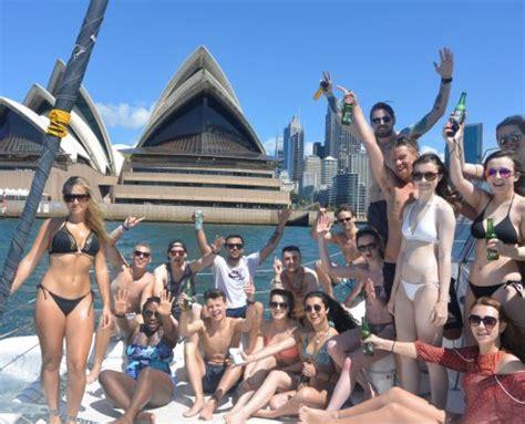 catamaran harbour cruise sydney sydney harbour cruise lazy sundays rockfish catamarans