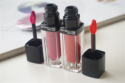 Lipstik Maybelline Velvet maybelline velvet matte liquid lip color review mat 8