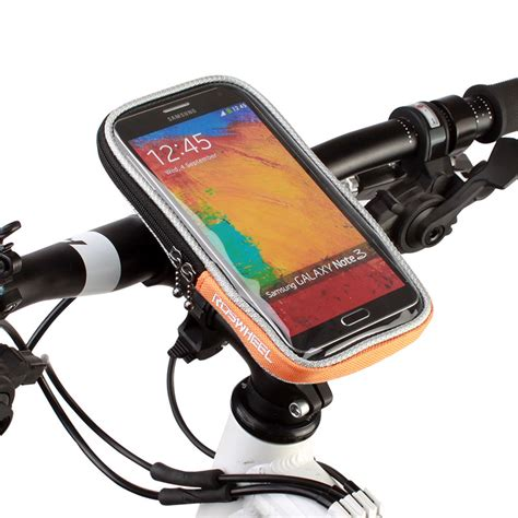Bicycle Phone Holder 4 Penyanggah One Touch T0210 1 4 2 quot 4 8 quot 5 5 quot roswheel bicycle mobile phone touch screen bycicle bike handlebar bag