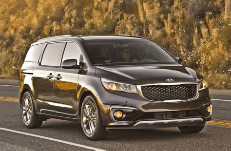 Kia Carnical News Maximum Five Safety Rating For Kia Carnival