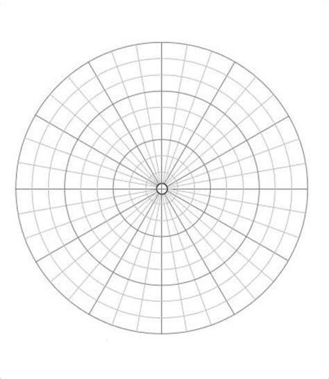 printable polar graphs 6 polar graph paper templates pdf free premium