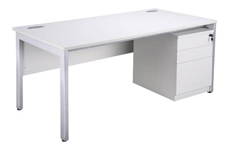white desks white office furniture