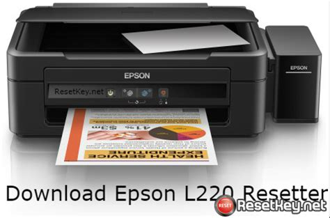 Epson L220 Resetter Crack Free Download | wic reset key serial epson adjustment program