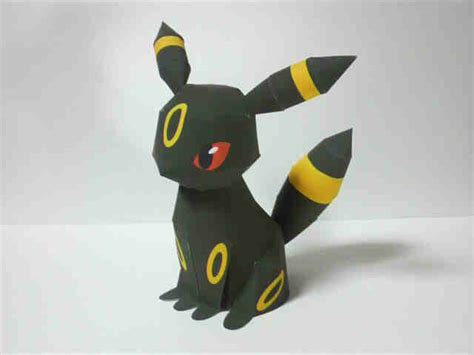 Papercraft Umbreon - umbreon papercraft papercraft paradise