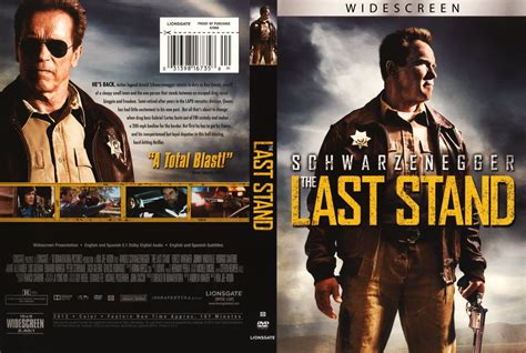 Last Stand the last stand dvd custom covers the last stand