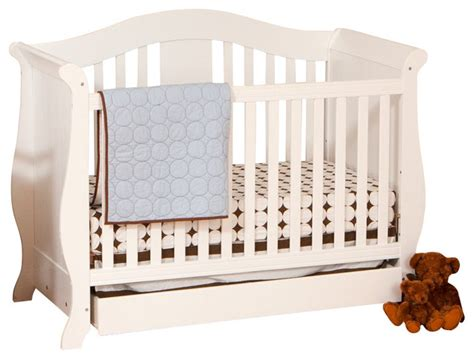 Side Crib by Stork Craft Vittoria 3 In 1 Fixed Side Convertible Crib In