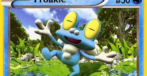 Kartu Trading Card Water X And Y Froakie Dkk froakie x and y card review primetime s