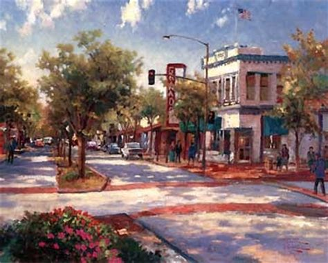 downtown hill ca downtown hill by kinkade where i want to