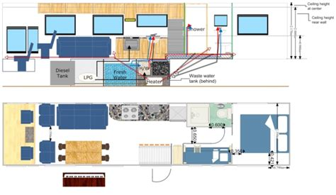 motorhomes floor plans