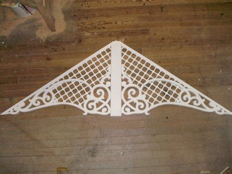 custom  victorian gingerbread gable decoration