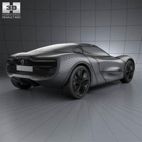 renault dezir interior renault dezir with hq interior 2012 3d model hum3d