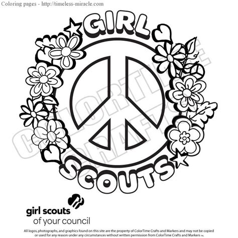 Scout Coloring Pages