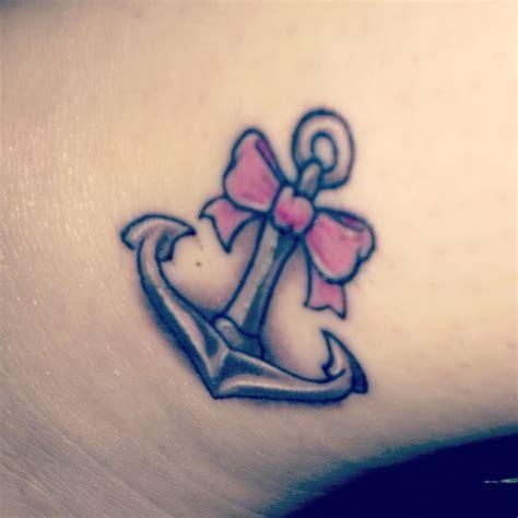 girly bow tattoo designs anchor bow tattoos anchor bow