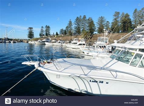 deep sea fishing boat cost kiama harbour illawarra coast new stock photos kiama