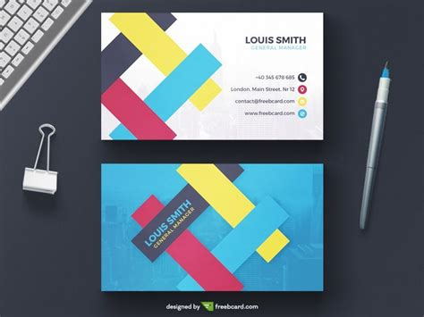 business cards shapes templates 20 professional business card design templates for free