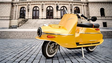 yillik ikonik scooterin elektrikli doenuesuemue cezeta