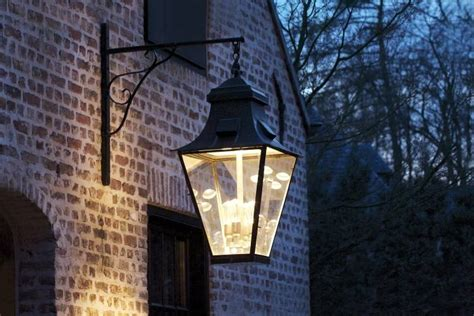 Kitchen And Bathroom Fittings Outdoor Wall Light Lantern Rustic On Hook 4xgu10 4xe27