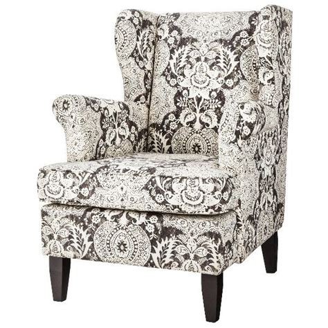 gray and white reading chair edbury upholstered wingback chair gray white