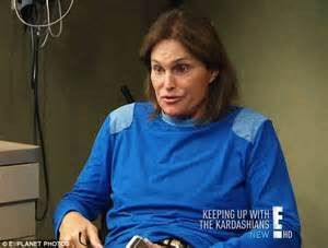 why does bruce jenner have long hair the changing face of bruce jenner how the buff brawny