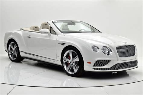 white bentley convertible 2017 bentley continental gt v8 s convertible