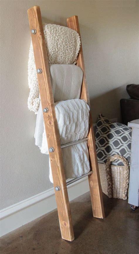 diy rustic home decor 25 best ideas about ladder towel racks on