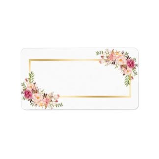 name tag flower design black and white floral blank tag pictures to pin on