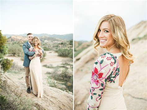 Modern Day Architecture bohemian desert engagement session aubrey austin