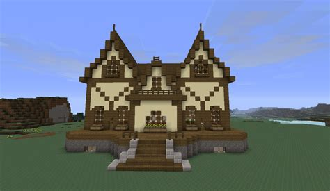 Easy To Build Floor Plans by Victorian House 1 Minecraft Project