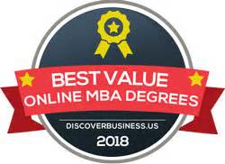 Best Value Mba 2017 by Discoverbusiness Us Releases The 2018 Best Value