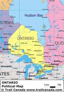 maps ontario canada political map of ontario canada