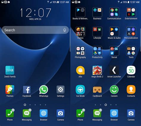 themes for zenui launcher the 10 best launchers for android