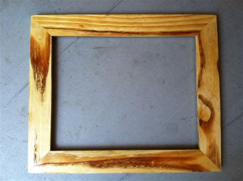 Handmade Wooden Frames - 11x14 handmade wooden picture frame