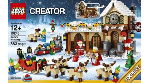 Set Santa lego santa s workshop set official pictures
