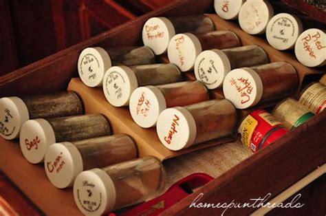 spice rack in drawer diy diy spice drawer organizing