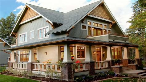 one story craftsman style homes craftsman style homes wrap around porch single story craftsman style homes house plans