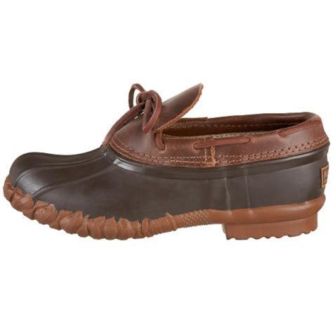 mens slip on duck boots kenetrek s duck shoe waterproof slip on boot brown 10