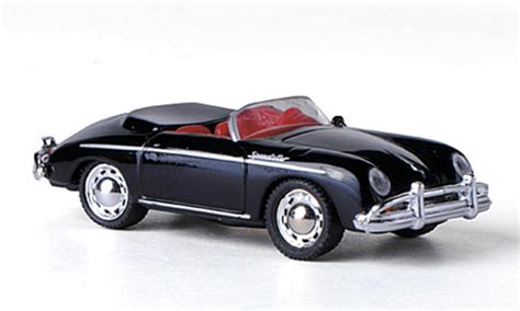 porsche model car porsche 356 a speedster black schuco diecast model car 1