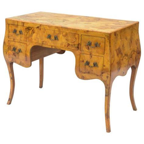 Patchwork Desk - northern italian patchwork burl desk on antique row