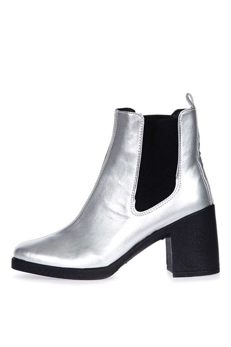 barnaby heeled chelsea boots topshop