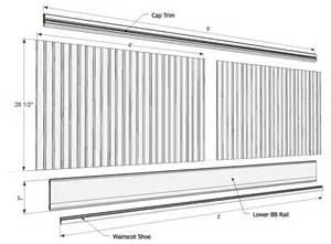 How To Cut Beadboard Panels - beadboard kit cottage 8 ft