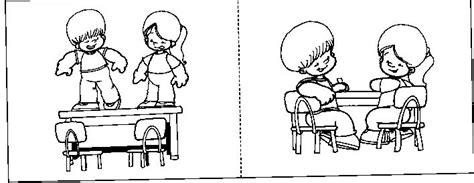 imagenes para colorear respeto maestra erika valecillo fotocopiables quot normas de convivencia quot