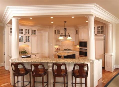 kitchen island columns 2018 kitchen cabinets william c pritchard co