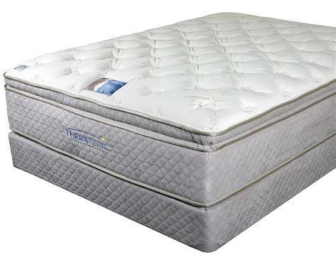 pillow top beds for sale therapedic backsense elite plush latex pillow top mattresses