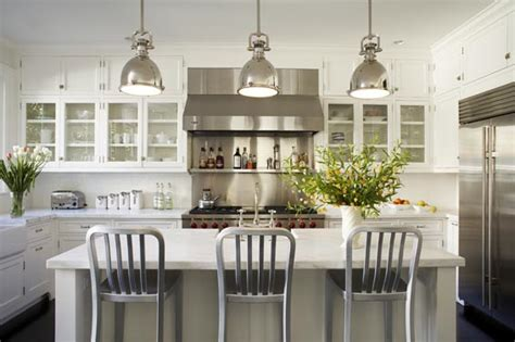 Stainless Steel Kitchen Lights Dreaming Of A White Kitchen Honey We Re Home
