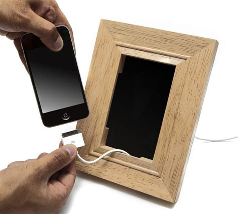 Desk Phone Accessories Frame Mobile Phone Holder Contemporary Desk Accessories By Lbc Modern