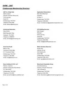 Church Directory Template by 5 Church Directory Templates Excel Templates