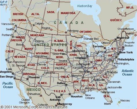 usa and canada map map of usa and canada holidaymapq
