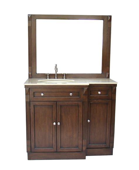42 inch bathroom cabinet adelina 42 inch traditional bathroom vanity fully