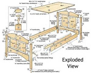 Woodworking Plans For Twin Bed by Build Your Own Bed Plans Wood Magazine