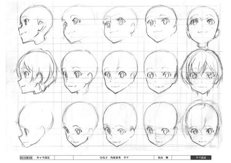 how to draw heads at different angles hill climb japan anima tor s exhibition drawings